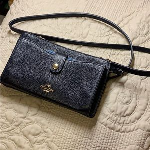 Coach Bag / Wallet in Blue